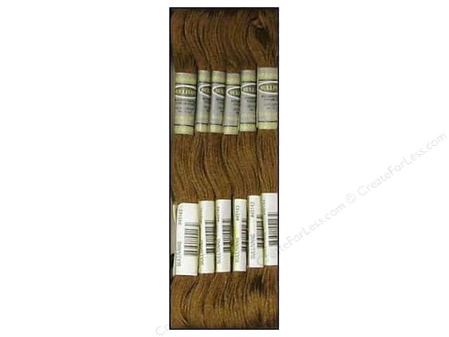 Sullivans Six-Strand Embroidery Floss 8.7 yd. Dark Drab Brown (12 skeins)