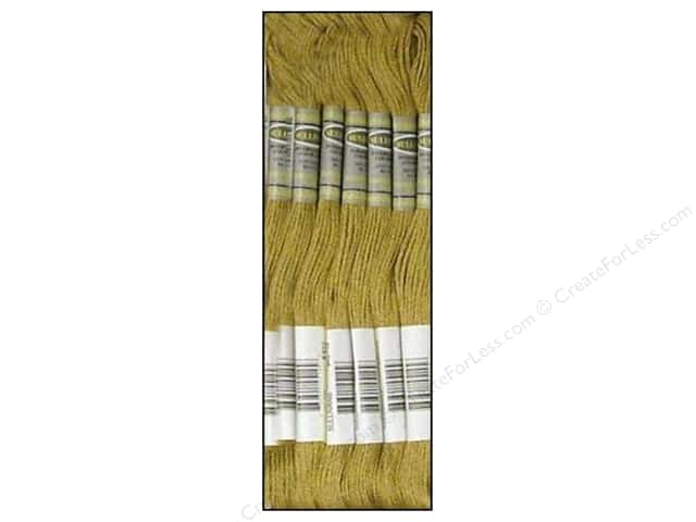 Sullivans Six-Strand Embroidery Floss 8.7 yd. Light Drab Brown (12 skeins)
