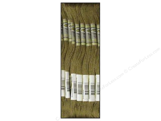 Sullivans Six-Strand Embroidery Floss 8.7 yd. Very Dark Beige Grey (12 skeins)