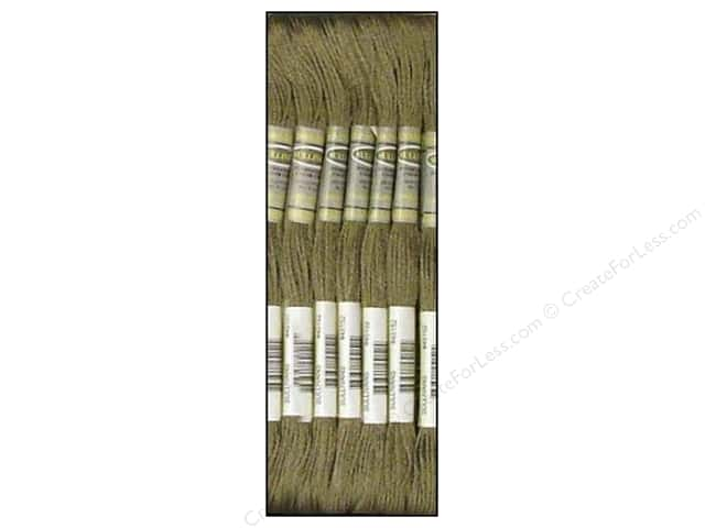 Sullivans Six-Strand Embroidery Floss 8.7 yd. Dark Beaver Grey (12 skeins)