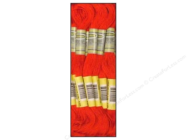 Sullivans Six-Strand Embroidery Floss 8.7 yd. Bright Red