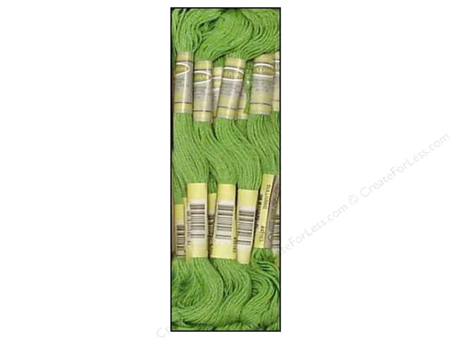 Sullivans Six-Strand Embroidery Floss 8.7 yd. Chartreuse (12 skeins)