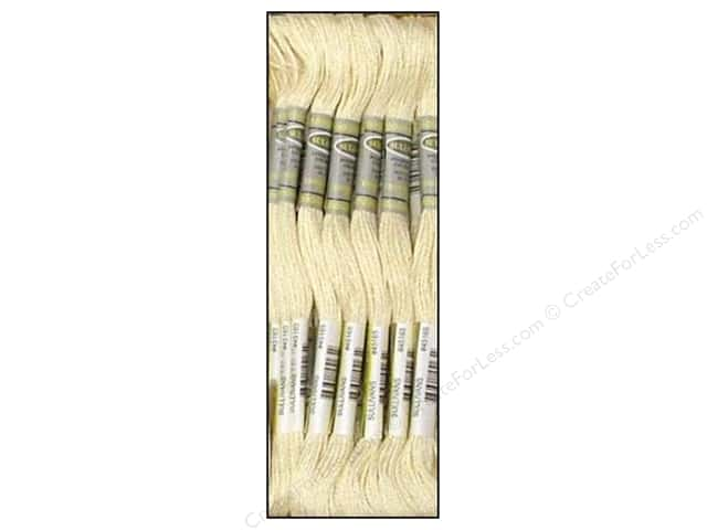 Sullivans Six-Strand Embroidery Floss 8.7 yd. Cream