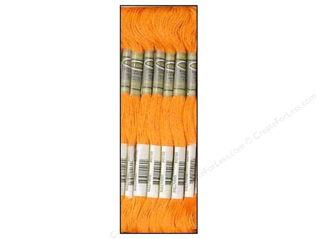 Sullivans Six-Strand Embroidery Floss 8.7 yd. Light Orange Spice (12 skeins)