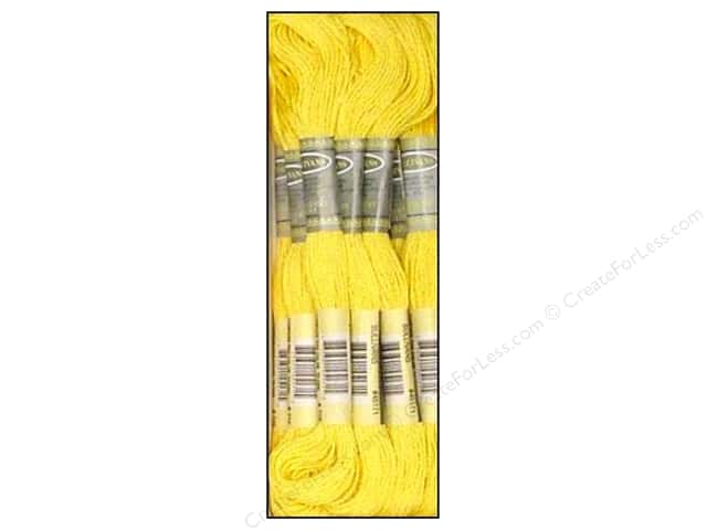 Sullivans Six-Strand Embroidery Floss 8.7 yd. Light Topaz (12 skeins)