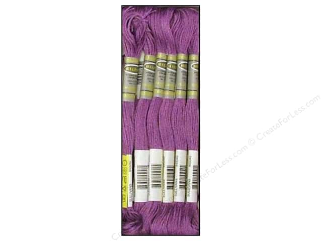 Sullivans Six-Strand Embroidery Floss 8.7 yd. Very Dark Lavender (12 skeins)
