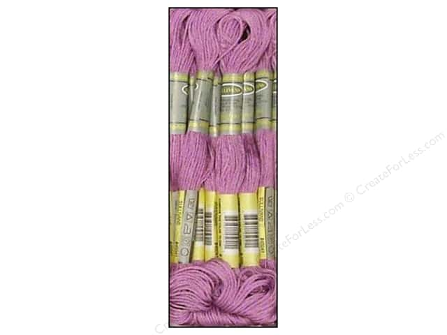 Sullivans Six-Strand Embroidery Floss 8.7 yd. Dark Lavender (12 skeins)
