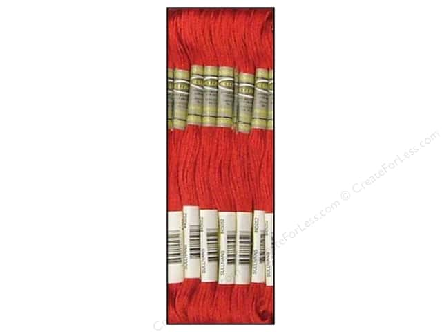 Sullivans Six-Strand Embroidery Floss 8.7 yd. Dark Rose (12 skeins)