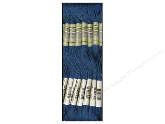 Sullivans Six-Strand Embroidery Floss 8.7 yd. Very Dark Baby Blue (12 skeins)