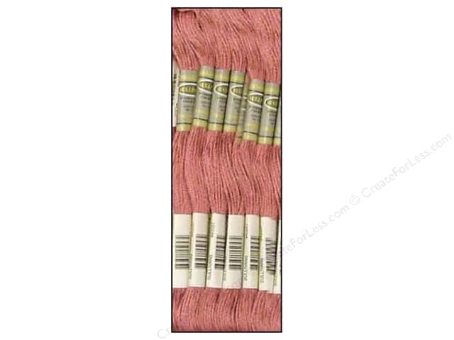 Sullivans Six-Strand Embroidery Floss 8.7 yd. Medium Antique Mauve (12 skeins)