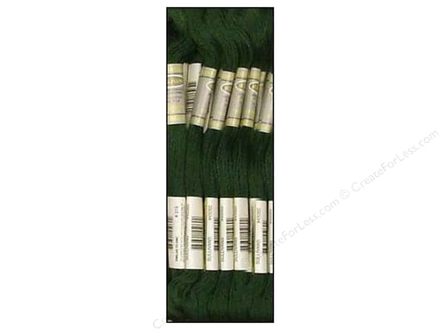 Sullivans Six-Strand Embroidery Floss 8.7 yd. Very Dark Pistachio Green (12 skeins)
