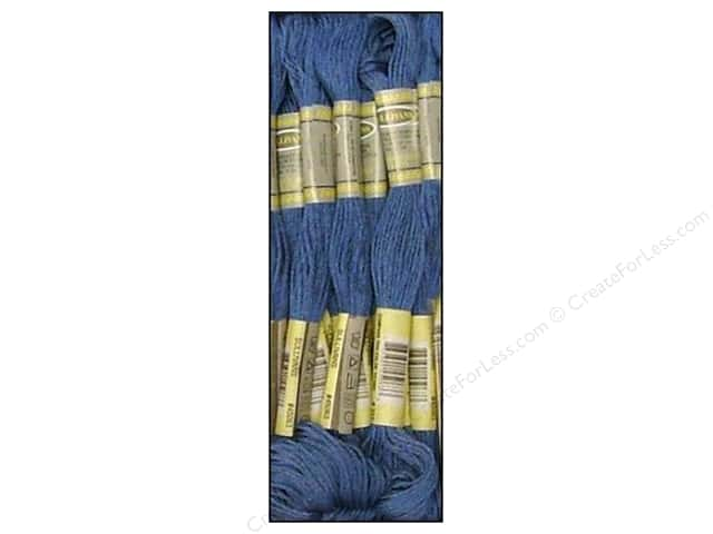 Sullivans Six-Strand Embroidery Floss 8.7 yd. Dark Baby Blue (12 skeins)