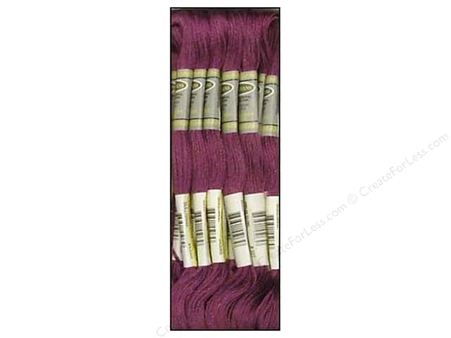 Sullivans Six-Strand Embroidery Floss 8.7 yd. Dark Violet (12 skeins)