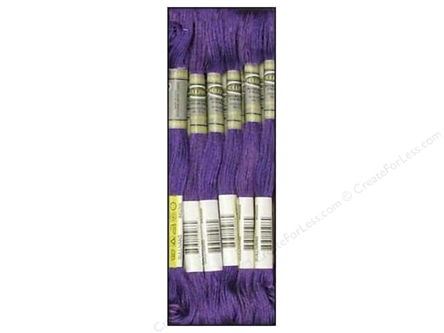 Sullivans Six-Strand Embroidery Floss 8.7 yd. Very Dark Blue Violet (12 skeins)