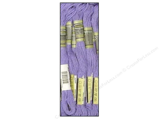 Sullivans Six-Strand Embroidery Floss 8.7 yd. Medium Blue Violet (12 skeins)