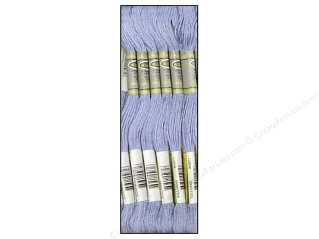 Sullivans Six-Strand Embroidery Floss 8.7 yd. Light Blue Violet (12 skeins)