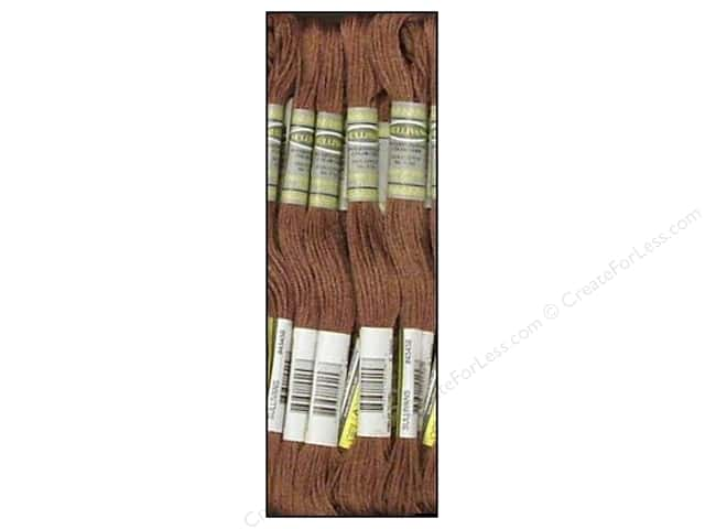Sullivans Six-Strand Embroidery Floss 8.7 yd. Cocoa (12 skeins)