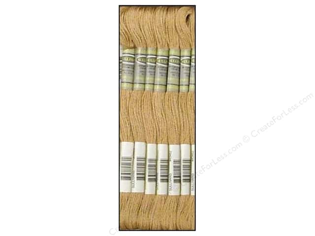 Sullivans Six-Strand Embroidery Floss 8.7 yd. Light Mocha Beige (12 skeins)