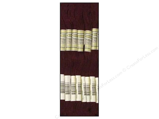 Sullivans Six-Strand Embroidery Floss 8.7 yd. Very Dark Grape (12 skeins)