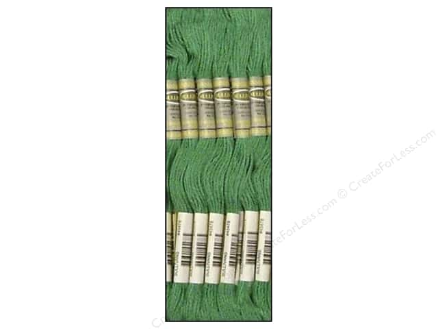 Sullivans Six-Strand Embroidery Floss 8.7 yd. Medium Celadon Green (12 skeins)