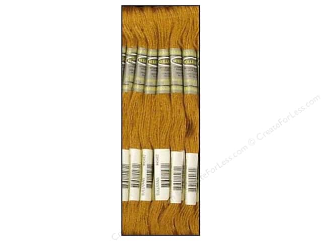 Sullivans Six-Strand Embroidery Floss 8.7 yd. Very Dark Yellow Beige (12 skeins)