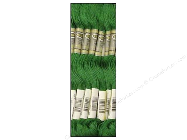 Sullivans Six-Strand Embroidery Floss 8.7 yd. Jade Green (12 skeins)