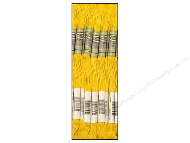 Sullivans Six-Strand Embroidery Floss 8.7 yd. Topaz (12 skeins)