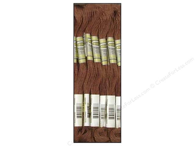 Sullivans Six-Strand Embroidery Floss 8.7 yd. Dark Cocoa (12 skeins)