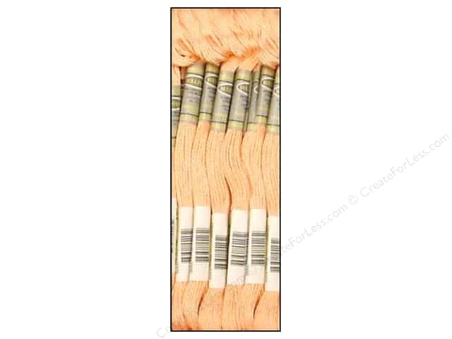 Sullivans Six-Strand Embroidery Floss 8.7 yd. Very Light Apricot (12 skeins)