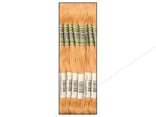 Sullivans Six-Strand Embroidery Floss 8.7 yd. Ultra Light Terra Cotta (12 skeins)