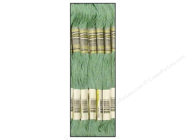 Sullivans Six-Strand Embroidery Floss 8.7 yd. Medium Blue Green (12 skeins)