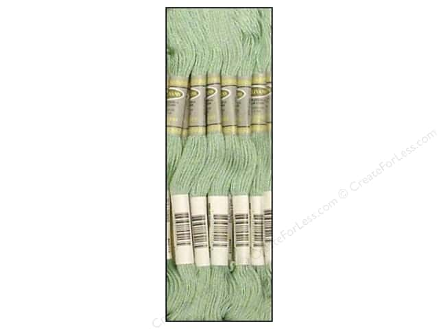Sullivans Six-Strand Embroidery Floss 8.7 yd. Very Light Blue Green (12 skeins)