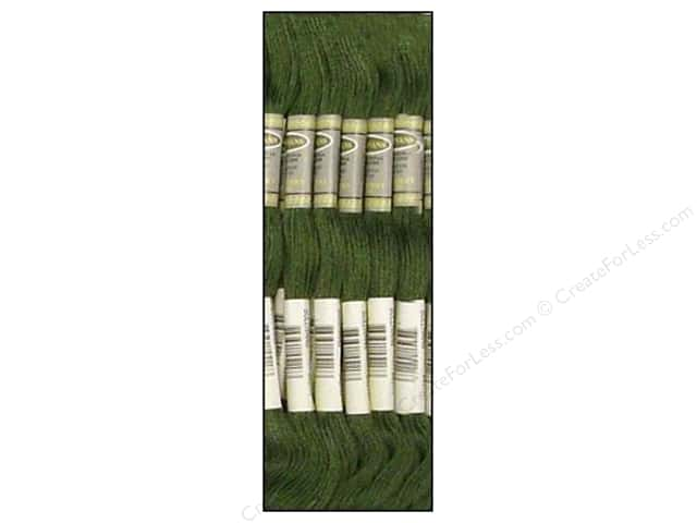 Sullivans Six-Strand Embroidery Floss 8.7 yd. Dark Fern Green (12 skeins)