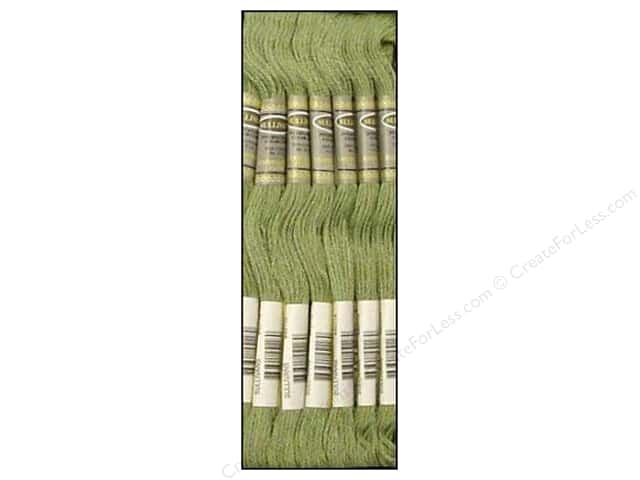 Sullivans Six-Strand Embroidery Floss 8.7 yd. Fern Green (12 skeins)