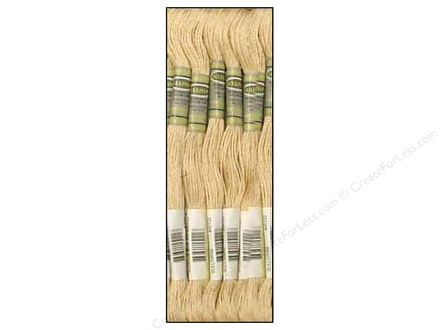 Sullivans Six-Strand Embroidery Floss 8.7 yd. Ultra Very Light Beige Brown (12 skeins)