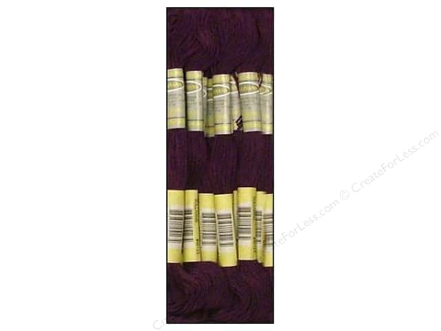 Sullivans Six-Strand Embroidery Floss 8.7 yd. Very Dark Violet (12 skeins)