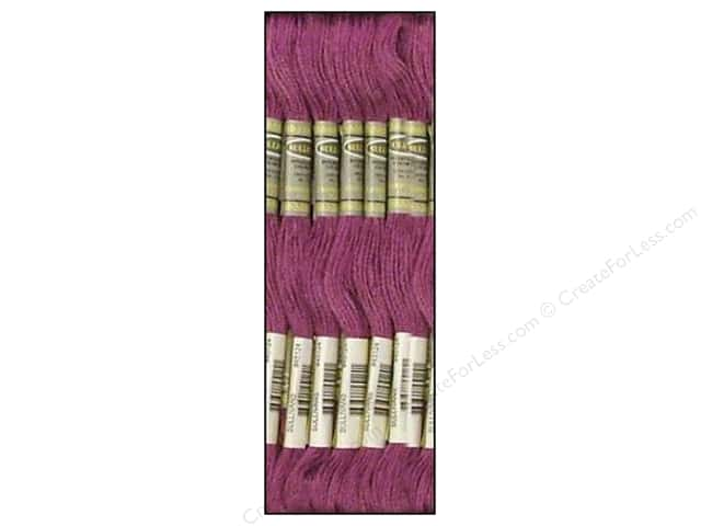 Sullivans Six-Strand Embroidery Floss 8.7 yd. Medium Violet (12 skeins)