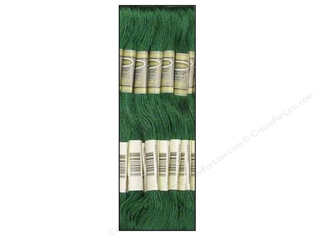 Sullivans Six-Strand Embroidery Floss 8.7 yd. Very Dark Jade (12 skeins)