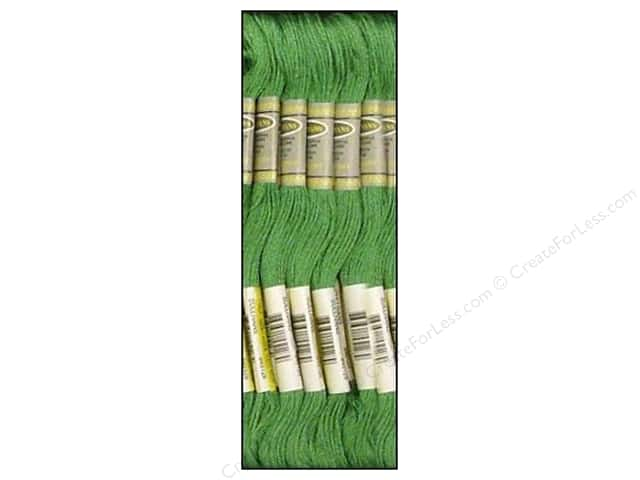 Sullivans Six-Strand Embroidery Floss 8.7 yd. Medium Jade (12 skeins)