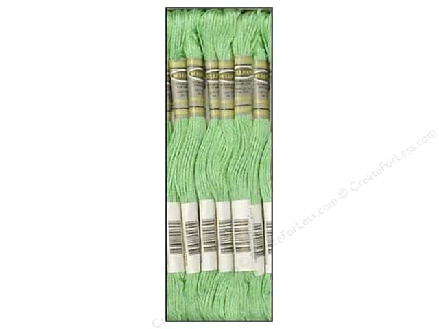 Sullivans Six-Strand Embroidery Floss 8.7 yd. Very Light Jade (12 skeins)