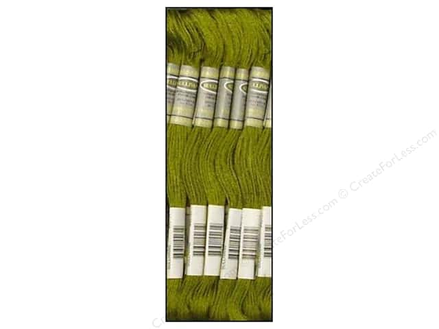 Sullivans Six-Strand Embroidery Floss 8.7 yd. Dark Moss Green (12 skeins)