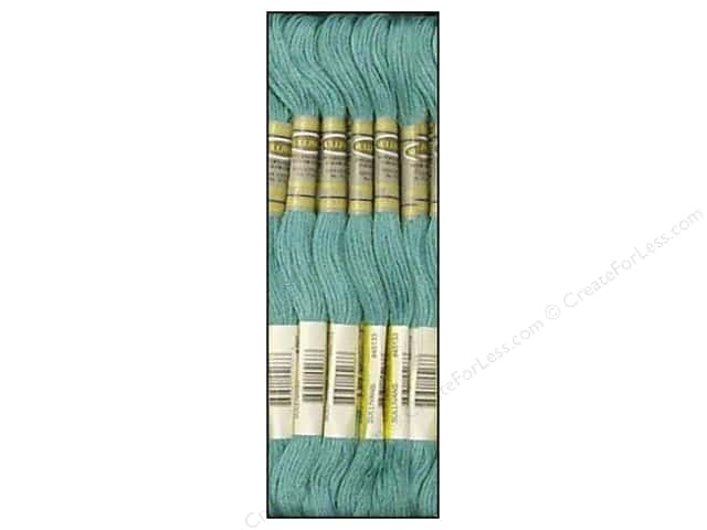 Sullivans Six-Strand Embroidery Floss 8.7 yd. Turquoise (12 skeins)