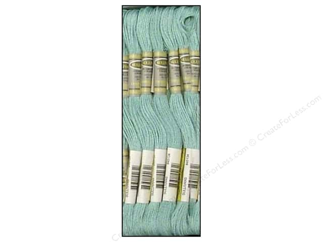 Sullivans Six-Strand Embroidery Floss 8.7 yd. Light Turquoise (12 skeins)