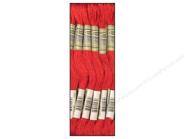 Sullivans Six-Strand Embroidery Floss 8.7 yd. Very Dark Cranberry (12 skeins)