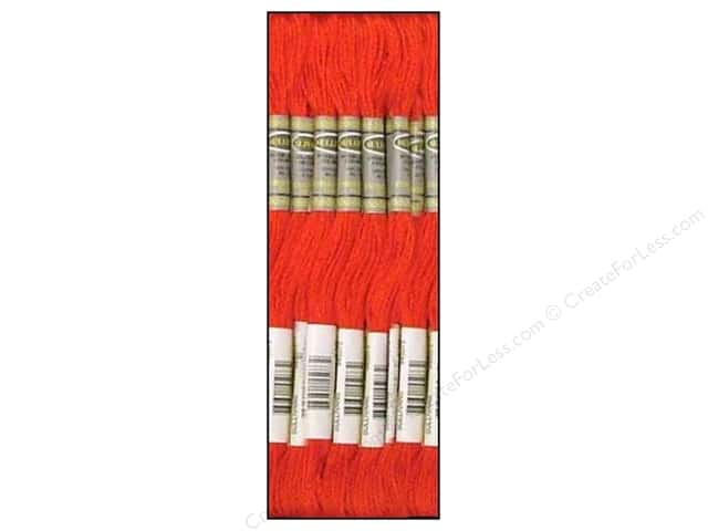 Sullivans Six-Strand Embroidery Floss 8.7 yd. Dark Coral