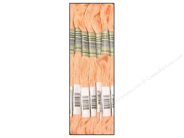 Sullivans Six-Strand Embroidery Floss 8.7 yd. Peach (12 skeins)