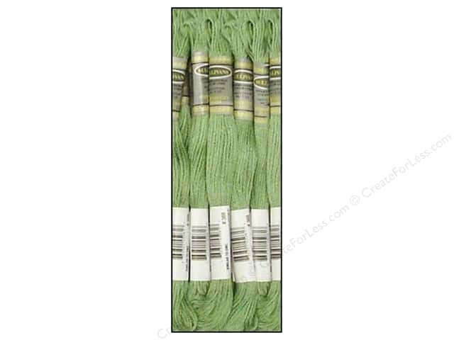 Sullivans Six-Strand Embroidery Floss 8.7 yd. Light Pistachio Green (12 skeins)