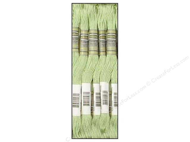 Sullivans Six-Strand Embroidery Floss 8.7 yd. Very Light Pistachio Green (12 skeins)