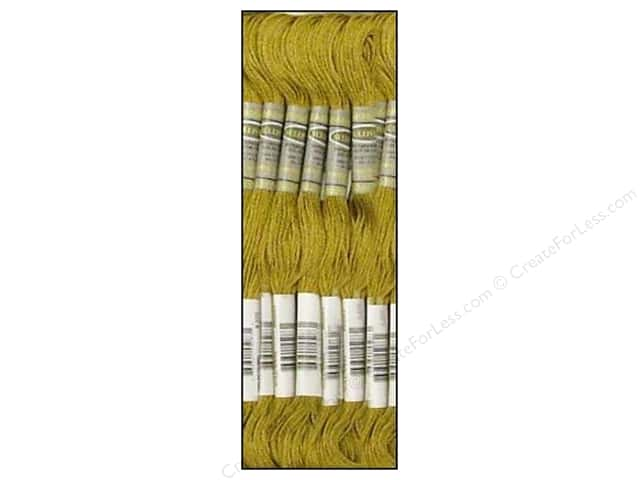 Sullivans Six-Strand Embroidery Floss 8.7 yd. Medium Mustard (12 skeins)