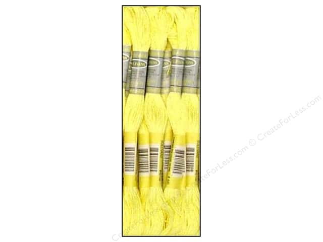 Sullivans Six-Strand Embroidery Floss 8.7 yd. Light Lemon (12 skeins)